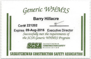 WHMS safety